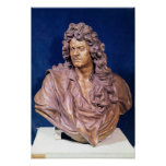 Bust of Jean Baptiste Lully Poster