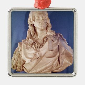 Bust of Jean de Rotrou  1783 Metal Ornament