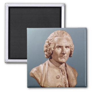 Bust of Jean-Jacques Rousseau Refrigerator Magnets