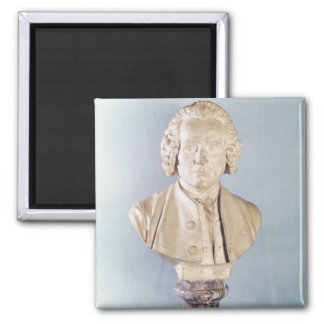 Bust of Jean-Jacques Rousseau Magnets