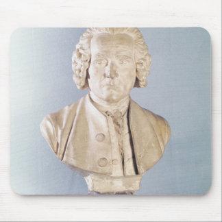 Bust of Jean-Jacques Rousseau Mouse Pad