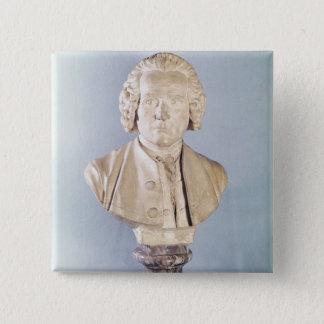 Bust of Jean-Jacques Rousseau Pinback Button