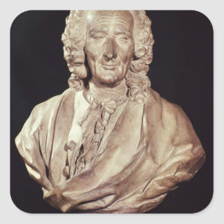 Bust of Jean-Philippe Rameau  1760 Square Stickers