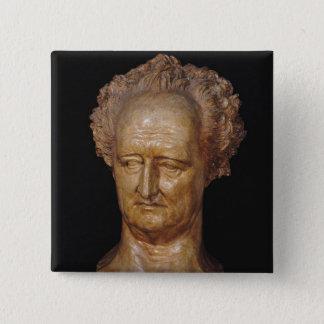 Bust of Johann Wolfgang von Goethe , 1831 Button