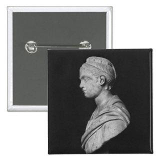 Bust of Julia Mamaea Pinback Button