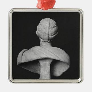 Bust of Julia Mamaea Metal Ornament