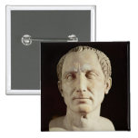 Bust of Julius Caesar 2 Button