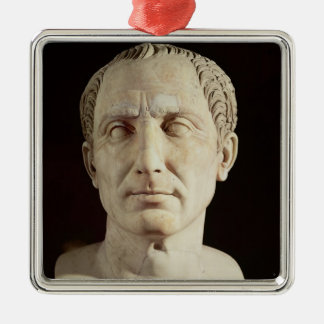 Bust of Julius Caesar 2 Metal Ornament
