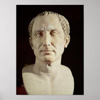 Bust of Julius Caesar 2 Posters
