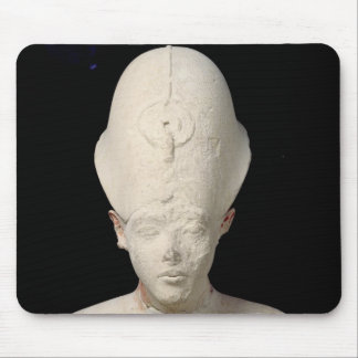 Bust of King Amenophis IV  from Tell el-Amarna Mouse Pad