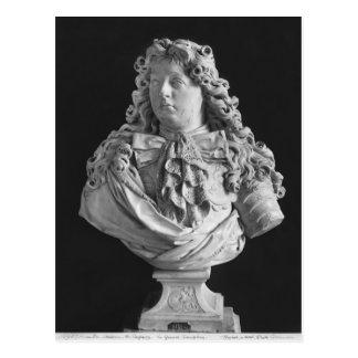 Bust of Louis de France Postcard