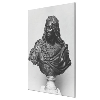 Bust of Louis II Prince of Bourbon Canvas Print