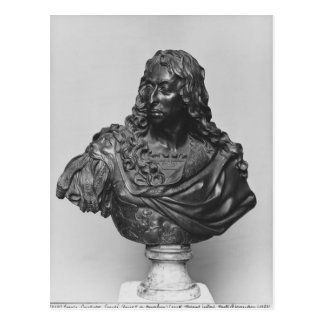 Bust of Louis II Prince of Bourbon Postcard