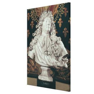 Bust of Louis XIV  1686 Canvas Print