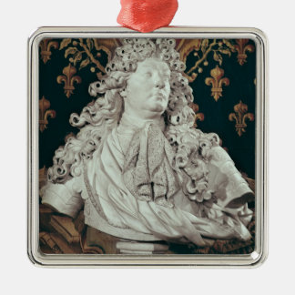 Bust of Louis XIV  1686 Metal Ornament