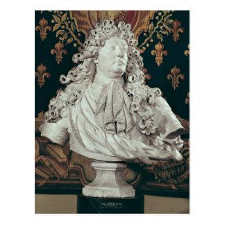 Bust of Louis XIV  1686 Postcard