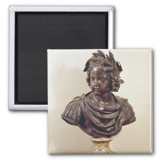 Bust of Louis XIV  as a child 2 Inch Square Magnet