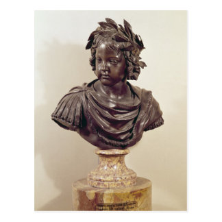 Bust of Louis XIV  as a child Postcard