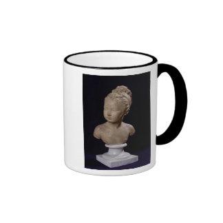 Bust of Louise Brongniart, 1777 Ringer Coffee Mug