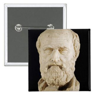 Bust of Lysias Pinback Buttons