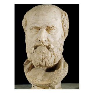Bust of Lysias Postcard