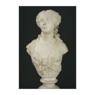Bust of Madame Sabatier, 1847 Canvas Print