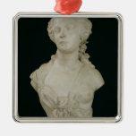 Bust of Madame Sabatier, 1847 Metal Ornament