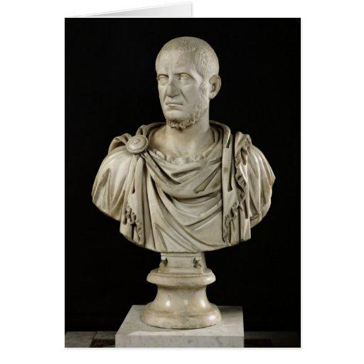 Bust of Marcus Claudius Tacitus Cards
