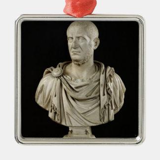 Bust of Marcus Claudius Tacitus Metal Ornament