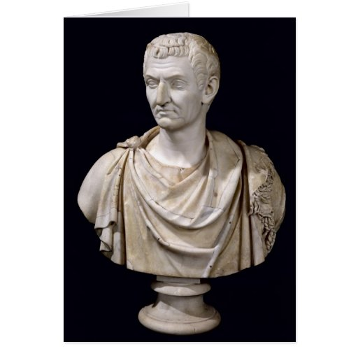 Bust of Marcus Cocceius Nerva Greeting Card