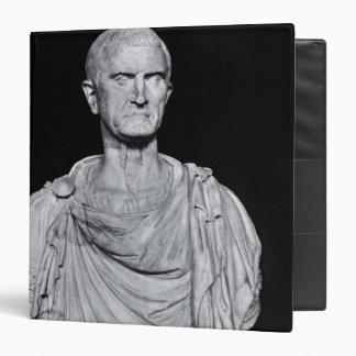 Bust of Marcus Licinius Crassus 3 Ring Binder