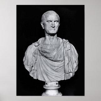 Bust of Marcus Licinius Crassus Poster