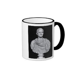 Bust of Marcus Licinius Crassus Ringer Mug