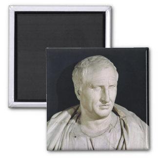 Bust of Marcus Tullius Cicero 2 Inch Square Magnet