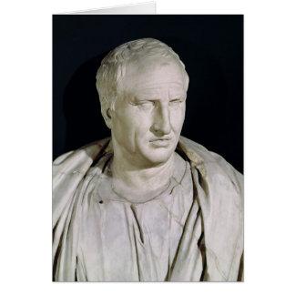 Bust of Marcus Tullius Cicero Greeting Card