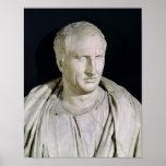 Bust of Marcus Tullius Cicero Poster