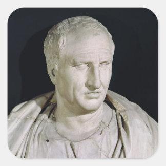 Bust of Marcus Tullius Cicero Square Sticker