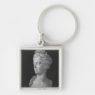 Bust of Marie-Adelaide de Savoie Key Chains