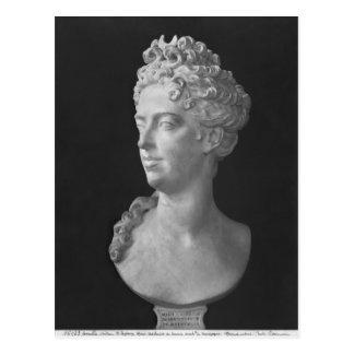 Bust of Marie-Adelaide de Savoie Postcard
