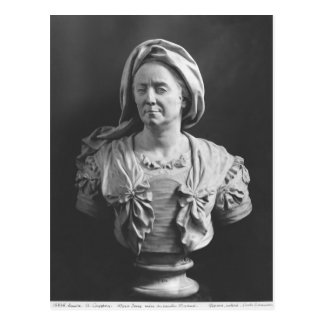 Bust of Marie Serre Postcard