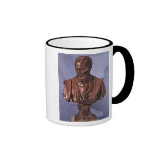 Bust of Michelangelo Buonarroti Ringer Coffee Mug