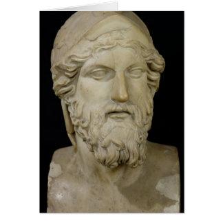 Bust of Miltiades  480-336 BC Card