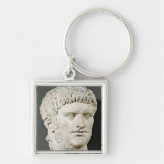 Bust of Nero Keychain