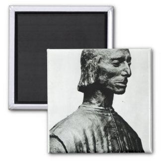 Bust of Niccolo Machiavelli Magnet