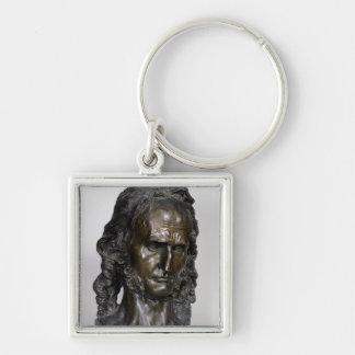 Bust of Nicolo Paganini  1830 Keychain