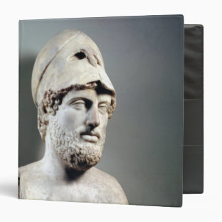 Bust of Pericles  copy of a Greek original 3 Ring Binder