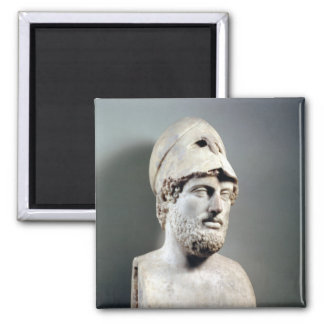 Bust of Pericles  copy of a Greek original Magnet