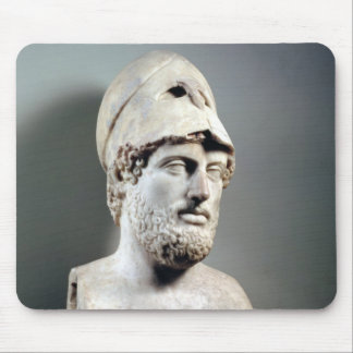 Bust of Pericles  copy of a Greek original Mouse Pad