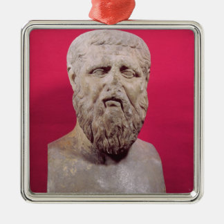 Bust of Plato  copy of a 4th century BC original Metal Ornament
