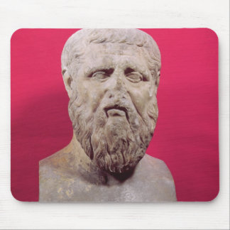 Bust of Plato  copy of a 4th century BC original Mouse Pad